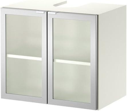 Ikea LILLANGEN – Lavabo Base Armario w 2 Puertas, Blanco, Aluminio – 60 x 38 x 51 cm: Amazon.es: Hogar