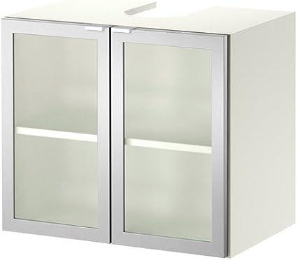 IKEA LILLÅNGEN - Mueble bajo Lavabo w 2 puertas, blanco ...