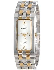 Peugeot Womens 1013TT Two-Tone Bracelet Watch