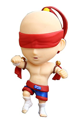 Inutile LOL League of Legends Lee Sin the Blind Monk Action Figure PVC Model Gift Toy