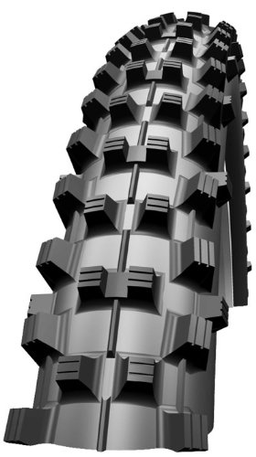 Schwalbe Dirty Dan 5.97 cm x 26 Downhill VertStar Faltreifen, schwarz,