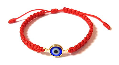 Lucky Charms USA Baby Red String Evil Eye Bracelet for Protection and good luck Unisex Mal De Ojo
