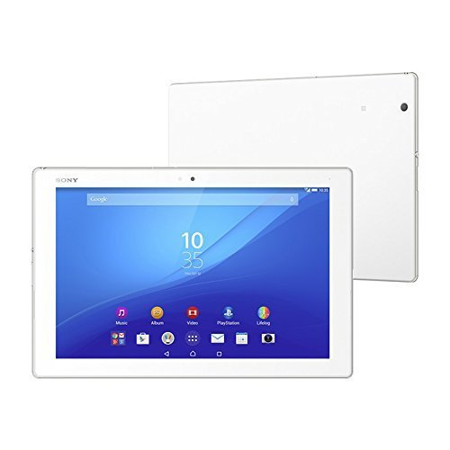 Sony Xperia Z4 Tablet SGP771 32GB 10.1-Inch LTE Factory Unlocked Tablet (White) - International Version No Warranty (Sony Tablet Z3)