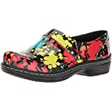 Klogs Footwear Women's Mission Medium Splatter Patent Size 065