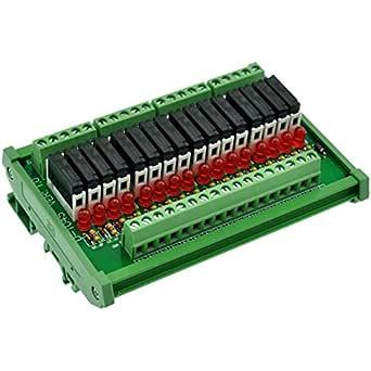 Tnisesm// 5St/ück Spule DPDT PCB Leistungsrelais DC 5V 8 Poliges Mini Leistungsrelais PCB Relais 4078F-8P-5V-BK