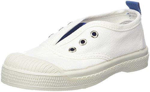 Bensimon Tennis Elly Whity, Zapatillas Unisex Niños Azul (Bleu)