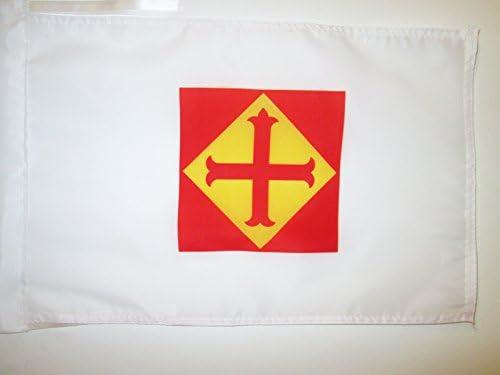 AZ FLAG Bandera de la CONFEDERACIÓN ESPAÑOLA DE DERECHAS AUTÓNOMAS 45x30cm - BANDERINA DE LA CEDA 30 x 45 cm cordeles: Amazon.es: Jardín