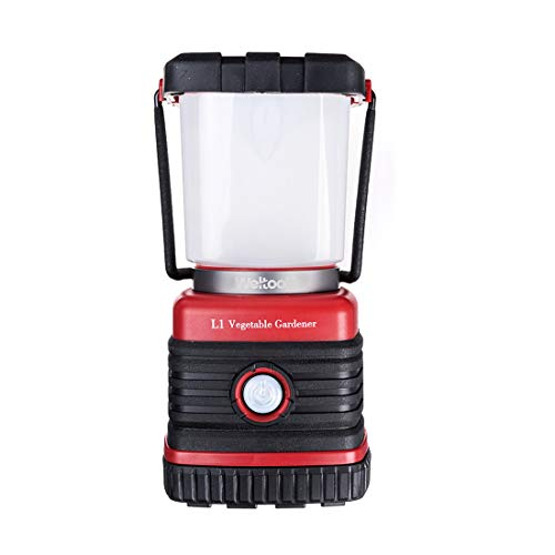 Weltool L1 3000K Warm White Portable LED Camping Lantern Dimmable with Red Light S.O.S Waterproof Shockproof for Hiking, Emergencies, Hurricanes, Outages, Hardware 3 D Alkaline Battery Operated