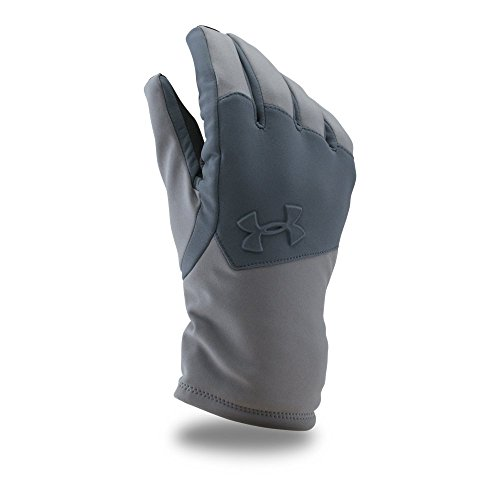Under Armour Men's ColdGear Infrared Softshell Gloves, Graphite/Stealth Gray, X-Large from Under Armour