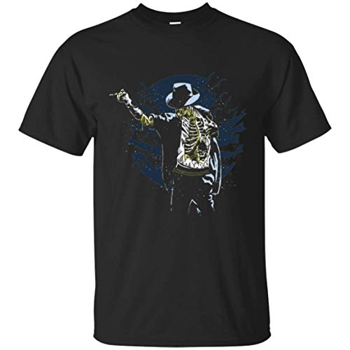 KID ANGELES Halloween Costume Zombie Pop Michael Jackson T-Shirt | for Men Women Black/L