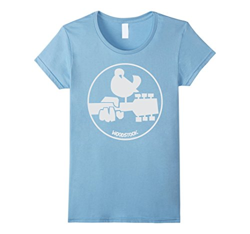 Womens Woodstock - White Dove T-Shirt Large Baby - Women Woodstock