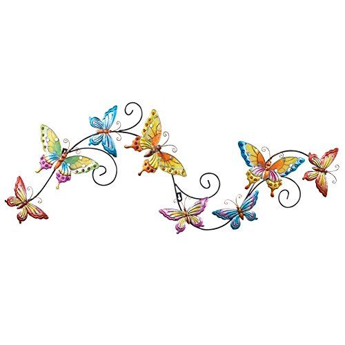 Butterfly Trail Wall Decor Multi