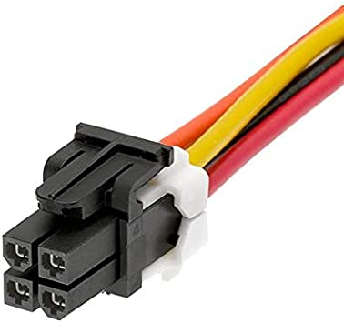 MINIFIT 4 CIRCUIT 300MM CABLE AS Pack of 50