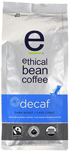 Honest Bean Coffee Decaf, Dark Roast, Whole Bean, 12-Ounce Bag