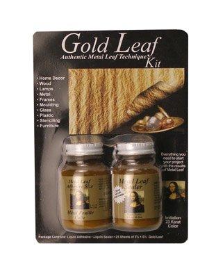 Speedball Mona Lisa Gold Leaf Kit (Metal Leaf Sealer)