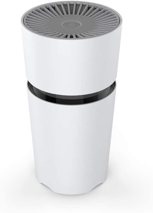 Air Purifier for Bedroom, Desktop Air Purifier for Home, HEPA Air Purifier with True Air Filters, Car Air Purifier, Low Noise Portable Air Purifier, USB Air Cleaner, Air Ionizer Freshener (M5)