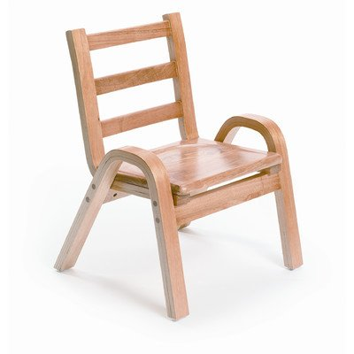 Wood Classroom Chair Seat Height: 7''