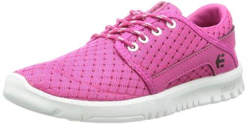 Etnies Enfants Scout Lacets Sneaker (enfant En Bas Âge / Petit Enfant / Grand Enfant) Rose / Blanc