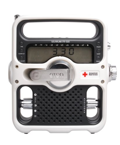 American Red Cross FR500 Solarlink, White
