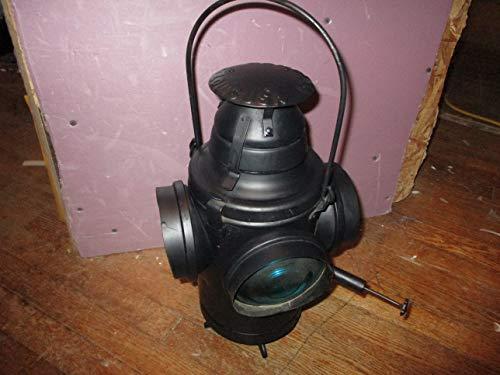 Antique Handlan St. Louis 4 Way Caboose Railroad Lantern
