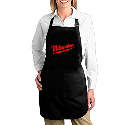 Aprons for Women and Men Funny Vegan Chef Kitchen Cooking and Baking Apron Milwaukee Bib Apron High Waist Aprons -