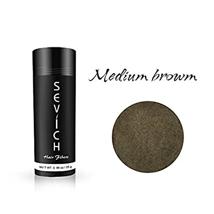 Sevich - Fibras de pelo (25 g, 3 colores, fibra de queratina natural