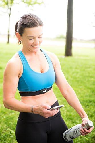 Amazon.com: Heart Rate Monitor Correa en el pecho y Salud ...