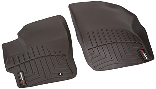 (WeatherTech  441471  Custom Fit Front FloorLiner for Mazda 3 (Black))