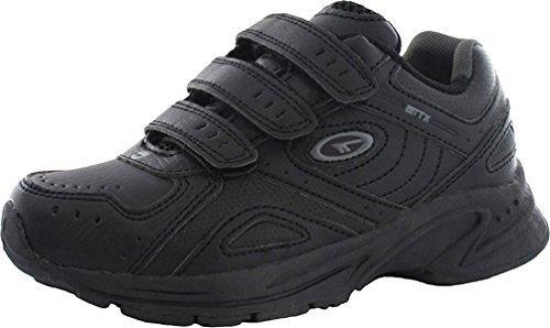 Unisex Noir Sport Chaussures tec Simple Fermeture childrens Hi Bottes Enfants Xt115 De Jeu xwBWHaqW6f
