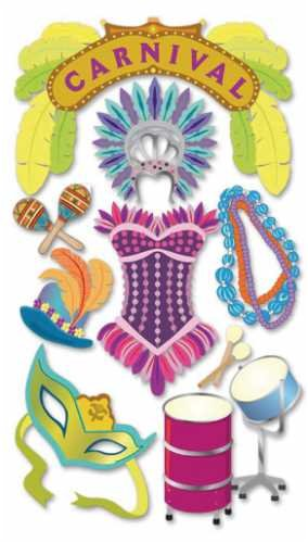"""Jolee/'s Boutique /""""Carnival/"""" Dimensional Stickers"""