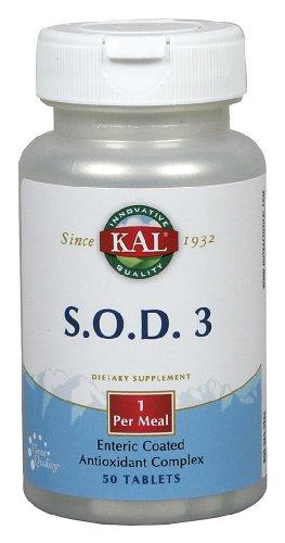 KAL - S.O.D.3, 50 tablets