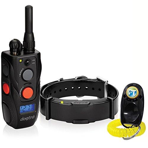 - Dogtra ARC Remote Training Collar - 3/4 Mile Range, Waterproof, Rechargeable, Shock, Vibration - Includes PetsTEK Dog Training Clicker