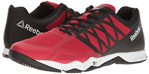Reebok Men's Crossfit Speed TR Cross-Trainer Shoe, Excellent Red/Black/White/Pewter, 11 M US