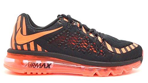 Nike [746683-011] AIR MAX 2015 NR Womens Sneakers NIKEBLACK HOT Lava Dark Grey NOIRM