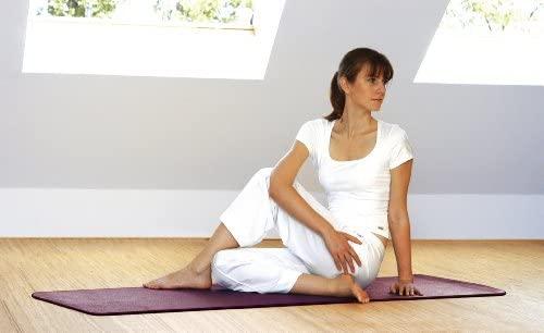 Sissel - Esterilla para Pilates y Yoga, Color Morado: Amazon ...