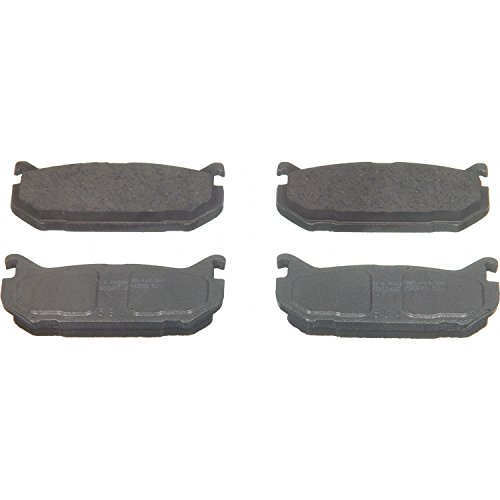 Ford Probe Disc Brake - Wagner ThermoQuiet PD584 Ceramic Disc Pad Set, Rear
