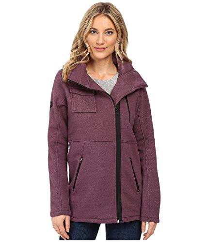 Hurley Women's Winchester Fleece Heather Purple Shade Outerwear MD (US 7-9)