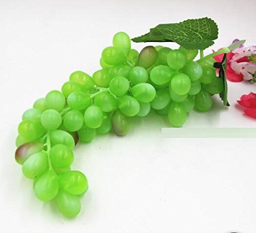 Ucoolbila 85pcs artificial grapes home decor fake plastic for Artificial grape vines decoration