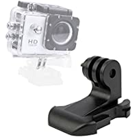 DURAGADGET Vertical Surface Quick-Release J Hook Buckle Strap Mount - Compatible with the Eken H9 | H8 | H3 Action Cameras
