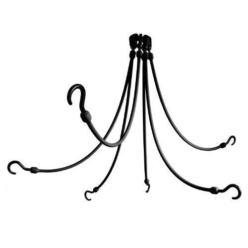 The Perfect Bungee 6-Arm 24-Inch Flex Web, Black by The Perfect (Bungee Arms)