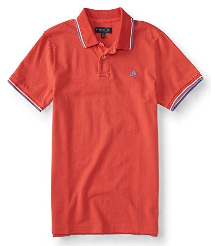 Aeropostale Mens Tipped Logo Shirt
