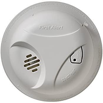 First Alert SA303CNFF Battery Powered Smoke Alarm with Silence Button