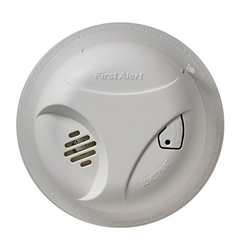 First Alert SA303CN3 Battery Powered Smoke Alarm with Silence Button, FF