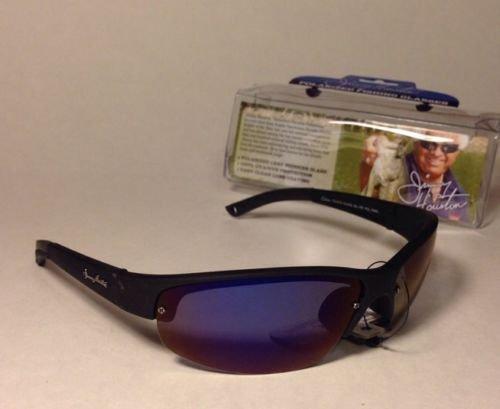 Foster grant Jimmy Houston Fishing Sunglasses Polarized 100% UVA/UVB Protection Black - Houston Glasses