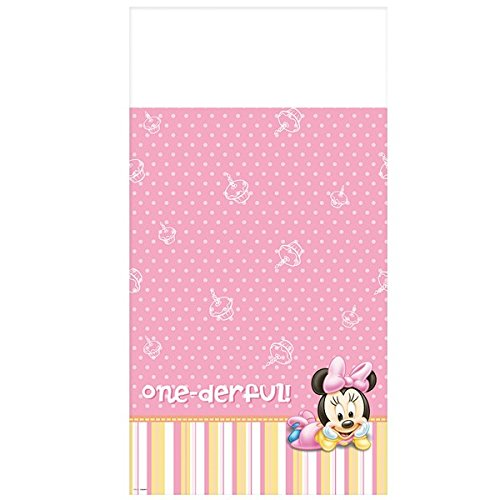 Amscan Minnie Mouse 1st Birthday Table Cover for $<!--$5.99-->