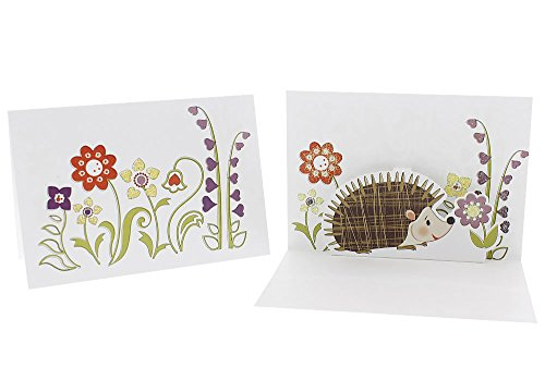 hedgehog pop up card hedgehog pop up greeting cards birthdays weddings 4658