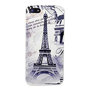 Buy Vintage Eiffel Tower Triumphal Arch Pattern Hard Case for iPhone 5/5S