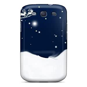 Special WonderwallOasis Skin Case Cover For Galaxy S3, Popular Starlight Moonlight Christmas Eve Phone Case