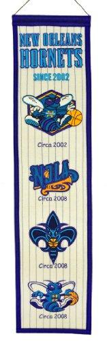 NBA New Orleans Hornets Heritage Banner