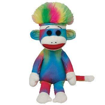 (Ty Beanie Baby - Rainbow Sock)